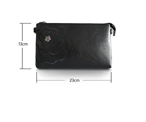 Nouveau Bleu Bag GWQGZ Style Mode Black Sac À Lady Simple Main Mini wqvv4RgI