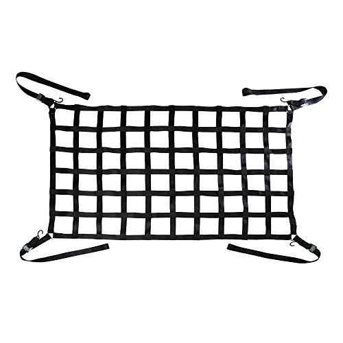 "US Cargo Control 82"" x 50"" Long Bed Pickup Truck Cargo Net with Cam Buckles & S-Hooks from US Cargo Control"