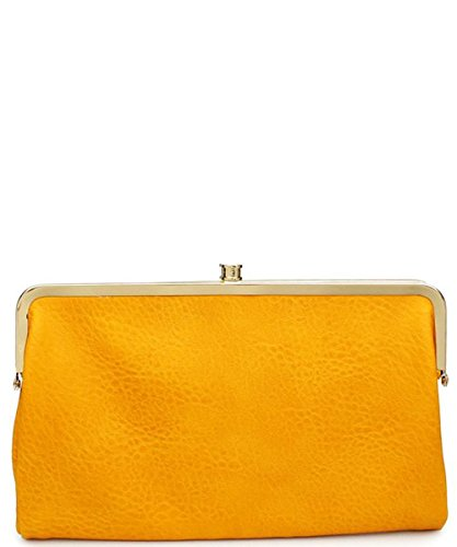 Clutch Yellow Sandra Leather Expressions Vegan Wallet Urban WqI1wYOn4x