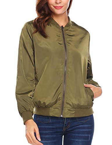 Army Donna 3 Giacca Meaneor Green Style RTHUU7