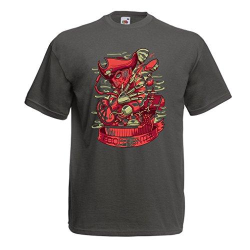 Miedo Lepni Grafito De Cazador me Cofre Tesoro Pesadilla Freddy Multicolor Diseño Comida Camisetas Pirata Del Parodia El Hombre Hw41zH