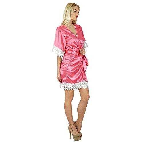 Kleid kurz lachsfarben