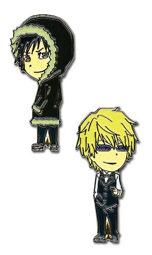 Durarara: Izaya and Shizuo Anime Broches Rockin Robot