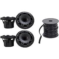 (4) MB Quart NH1-116B 6.5 600w Marine Speakers 4 Boat/ATV/UTV/RZR/Cart - Black