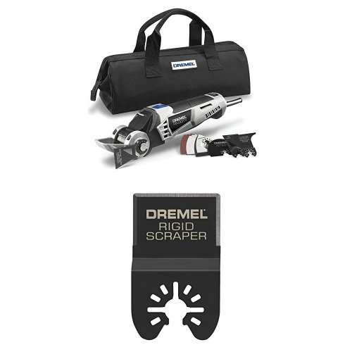 Dremel Hyper-Oscillating Ultimate Remodeling Tool Kit with Multi-Max Rigid Scraper