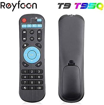 Calvas T9 - Mando a distancia para T9 T95Q T95X2 T95Z MAX Android TV Box: Amazon.es: Bricolaje y herramientas