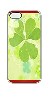 NBcase Girly Glitter Clover hard PC iphone 5 case for girls protective