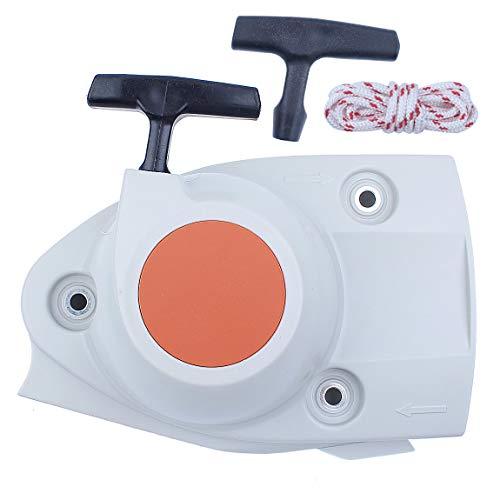 Recoil Starter Cover Assy Handle Rope for STIHL TS410 TS420 TS480I TS500I TS 410 420 480I 500I Concrete Cut Off Cutquik Saws