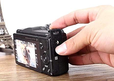 LXH Protector Cover Pad+Stainless Steel Lug Ring Camera Strap Triangle Split Ring Hook for Fujifilm Nikon Canon Sony Lecia Olympus Panasonic Pentax D-SLR Mirrorless Camera 4 Pairs
