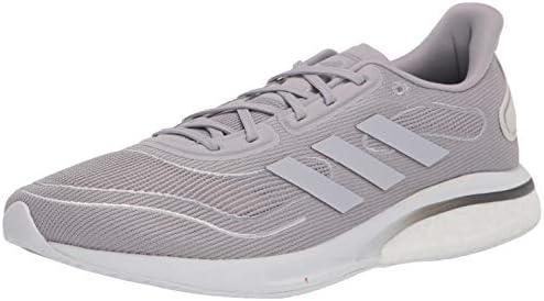 adidas mens Supernova Running Shoe, Grey/Grey/Silver, 7 US