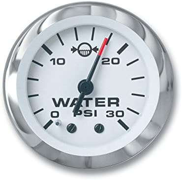 USED MERCURY OEM OUTBOARD WATER PRESSURE GAUGE 15 LB.