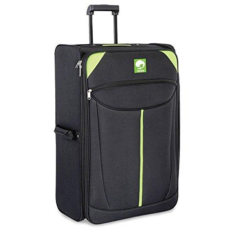 Cabin Max Global - Valigia Extra Large, 107 litri di capacità, Ultraleggero, Trolley ripiegabile, dimensioni 71 x 46 x 33cm