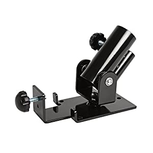 """A2ZCARE Deluxe T Bar Row Platform Full 360° Swivel for Easy Use in Small Spaces – Fits 1"""" Standard & 2"""" Olympic Bars"""