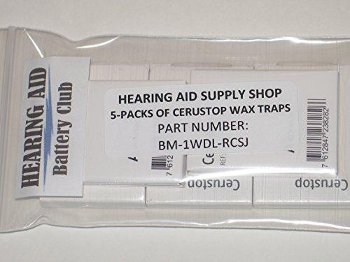 (5 Packs) Phonak Cerustop Filters (Hearing Aid Supply Shop)