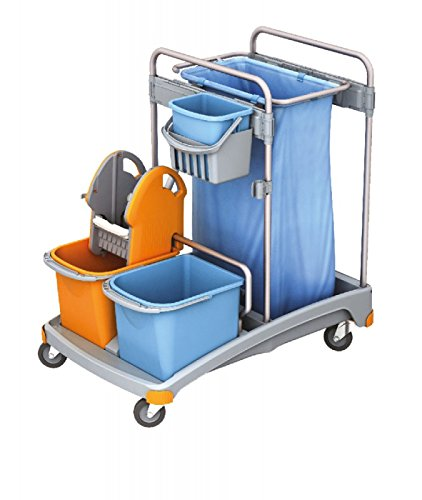Limpieza Splast maleta de cubos, soporte para bolsas de ...