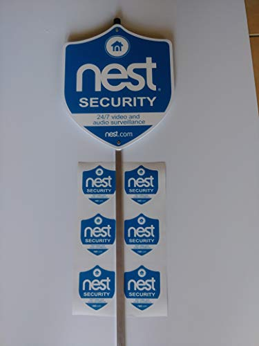 House/ Nest Yard Sign with (6) Outdoor Window Stickers