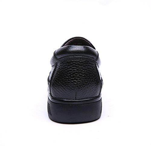Minitoo LHEU-LH3501, Mocassins pour Homme - Noir - Noir, 39 EU
