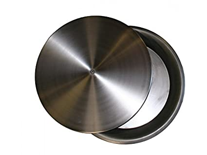 "COOKE 20"" Round Stainless Steel Replacement Pan for Fire Pits or Fire  Pit Tables ( - Amazon.com: COOKE 20"