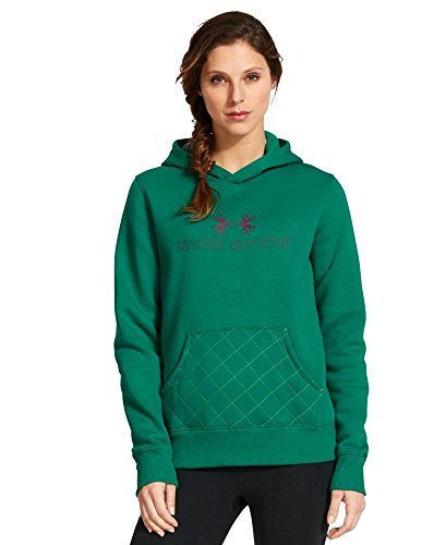 Under Armour Women's UA Established Hoodie Small Persain Company Value Fleece Jacket
