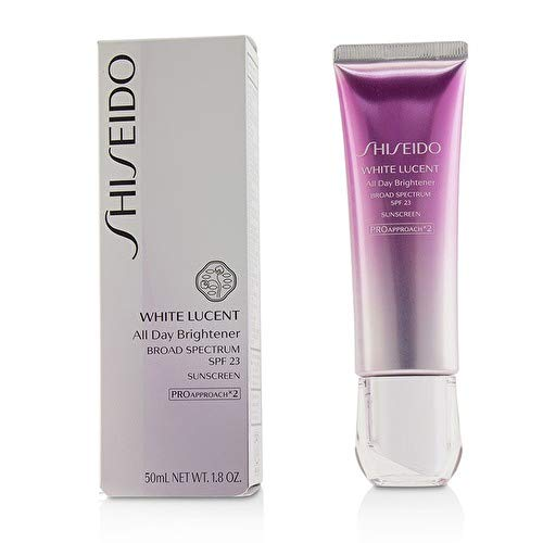 NEW! Shiseido White Lucent All Day Brightener, Broad Spectrum SPF 23 - 50ml ()