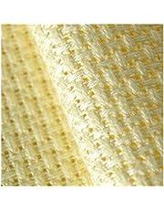 Cross Stitch Fabric White/Black/Red/Off-White 50X50cm 14 Count (14 CT) Aida Cloth