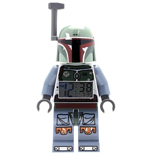 ClicTime - 9003530 - Lego Star Wars Boba Fett Minifiguren Wecker