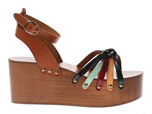 ISABEL MARANT Cuñas Sandalias EN Cuero de Varios Colores - Número de Modelo: Zia CP0009 16P014S Multicolor