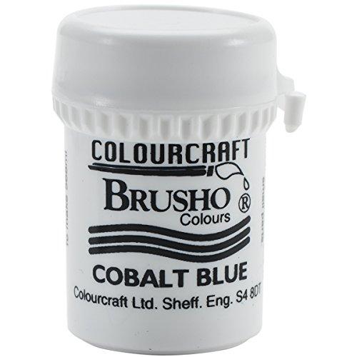 Brusho Crystal Colours 15 Gram Cobalt Blue