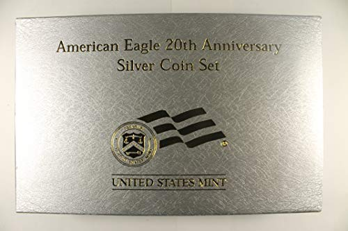 2006 W & P American Eagle 20th Anniversary Uncirculated, Proof & Reverse Proof ()