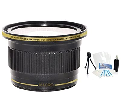 62mm Xit 0.38x Ultra Wide Panoramic HD Fisheye Lens. For The Sony SLT-A33, SLT-A55, SLT-A77, SLT-A99 Digital SLR Camera Which Have Any Of These (16-105mm, 18-200mm, 70-300mm, 24-105mm, 16-80mm, 18-250mm) Sony Lenses. UltraPro BONUS Included: Mini Tripod,