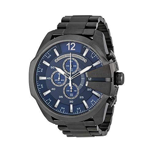 Chronograph Diesel Watch (Diesel Men's Mega Chief Quartz Stainless Steel Chronograph Watch, Color: Grey (Model: DZ4329))