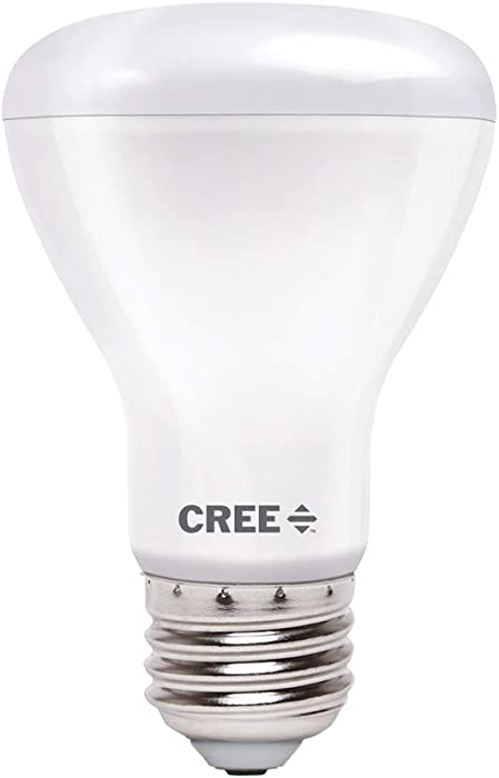 Cree Lighting TR20-09850FLFH25-12DE26-1-11 R20 Indoor Flood 75W Equivalent LED Bulb (Dimmable) 980, lumens, Daylight 5000K
