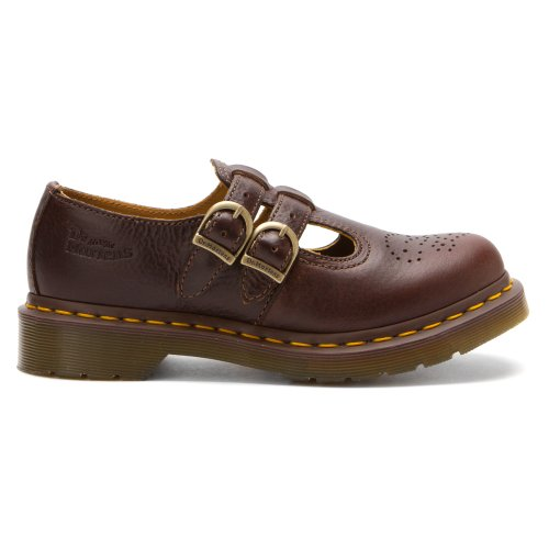 Dr. Martens Dames 8065 Mary Jane Donkerbruin