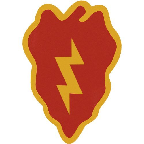 25th infantry division decals - 1
