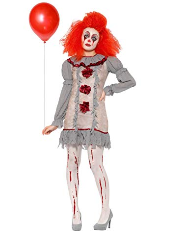 Vintage Killer Clown Lady Costume Women's It's Crazy