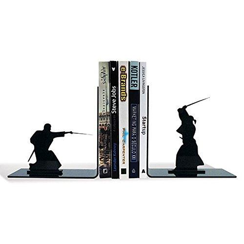 Suporte Aparador De Livros Dvd Cd Samurai Espadachim Luta
