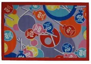 Fun Rugs Tootsie Roll Tootsie Roll Pop TR-02 Multi 39'' x 58'' Area Rug - Fun Rugs Tootsie Roll