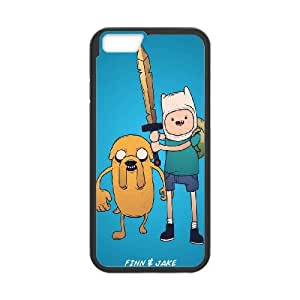 iPhone 6 Plus 5.5 Inch Cell Phone Case Black Adventure Time With Finn And Jake 2 Tksmc