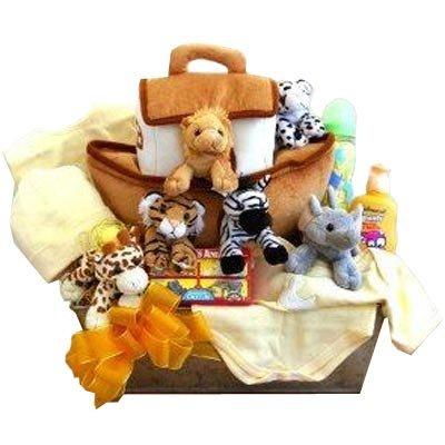 Noah's Ark Newborn Baby Gift Basket by Gift Basket
