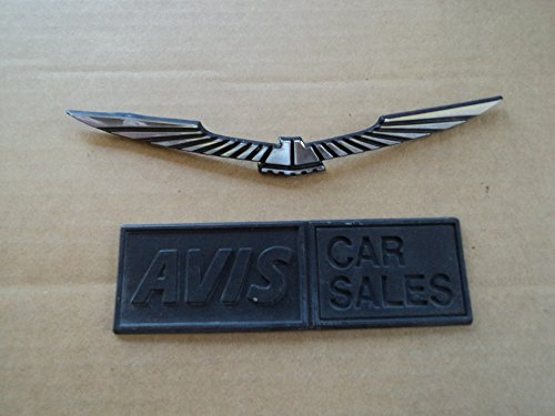 Unknown Eagle Wing OEM Side Rear Trunk Emblem Tailgate Used Emblem Set of 2
