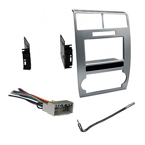 (Deals R Us Car Radio Stereo CD Player Dash Install Mounting Trim Panel Kit Harness Antenna)