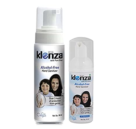 Buy Klenza Alcohol Free Cool Cologne Hand Sanitizer 200 Ml With