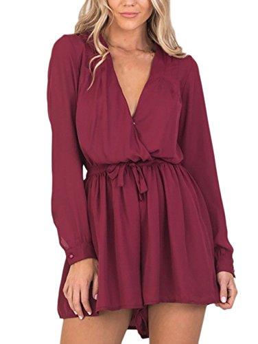 wholesale dealer 735df 2e9df Jumpsuit Damen Kurz Hose Sommer Damen Elegante Young Fashion ...
