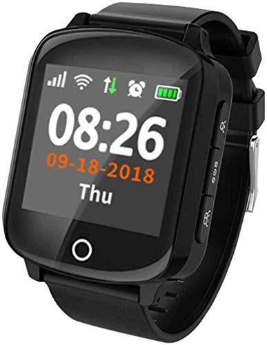 XIAOWANG Fitnesstracker, polshorloge met smartwatch, GPS-tracker, locator, voor oudere vrouwen en mannen, met smartwatch…