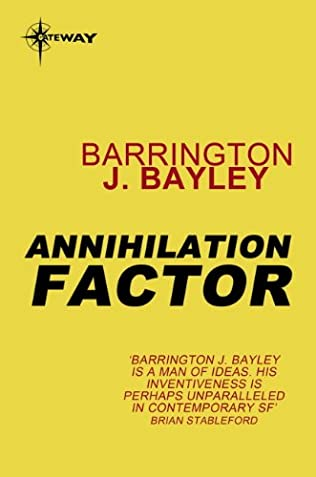 book cover of Annihilation Factor