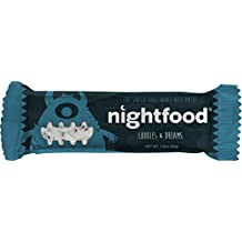 Night Cravings Make Weight Loss Hard - Delicious NightFood Snack Bars 12-Pack, 100% Money-Back Guarantee. Nighttime Cravings & Midnight Munchies Get Worse When You Diet...Be Prepared!