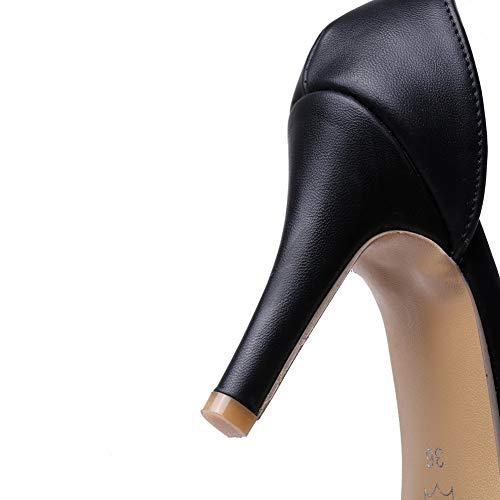 1TO9 Ouvert Bout Femme Inconnu Noir MJS03563 7xwfqd