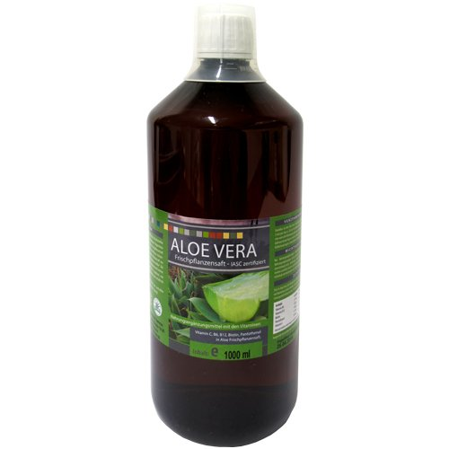 HNK Aloe Vera Saft 99,6%, 1000 ml PET-Flasche - IASC Qualitätssiegel