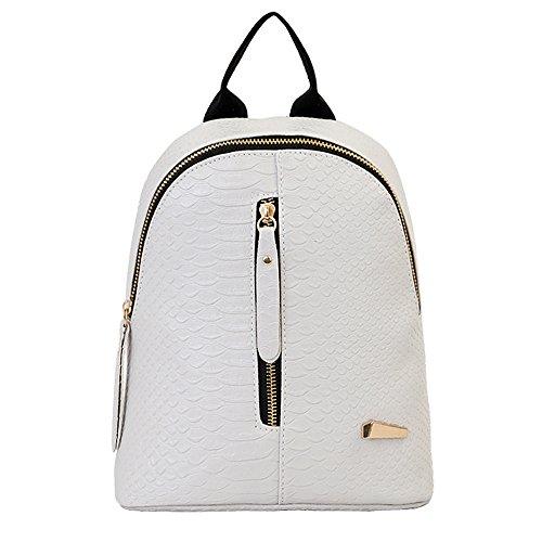 Goddessvan Retro Backpack Purse for Women Lightweight Waterproof Travel Bags Ladies Notebook Bag Gray (Messenger Bag For Notebook)