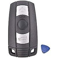 Auto Sleutel Fob Case Voor BMW 1 3 5 6 Serie E60 E90 E91 E92 E70 E82 E88 E89 X5 X6 3 Knop Afstandsbediening Smart Key…